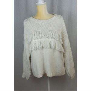 Jessica Simpson Fringe Theo Sweater